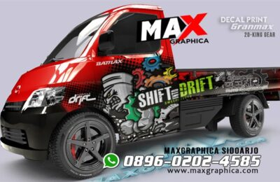 Cutting Sticker Grandmax Sidoarjo fullbody