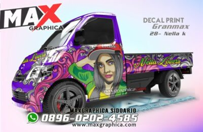 Kumpulan Modifikasi Stiker Mobil Grand Max Pick Up Terlengkap