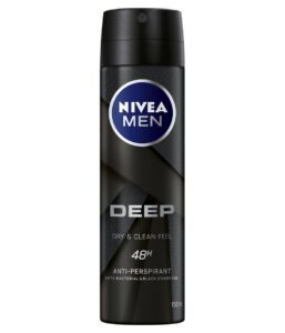 7. Beiersdorf Nivea Men Silver Protect Spray